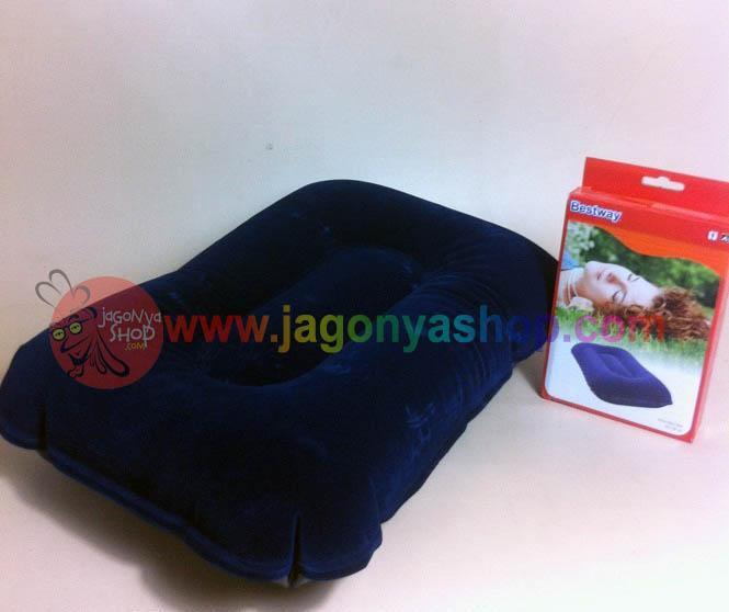 (FOTO ASLI) Bantal Udara Bantal Angin BESTWAY Bantal Tiup Bantal Travel (7pcs/kg)