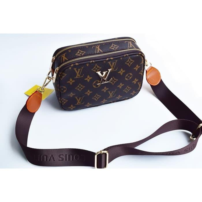Tas Wanita Selempang Shoulder Bag LV Snapshot Import - Mono