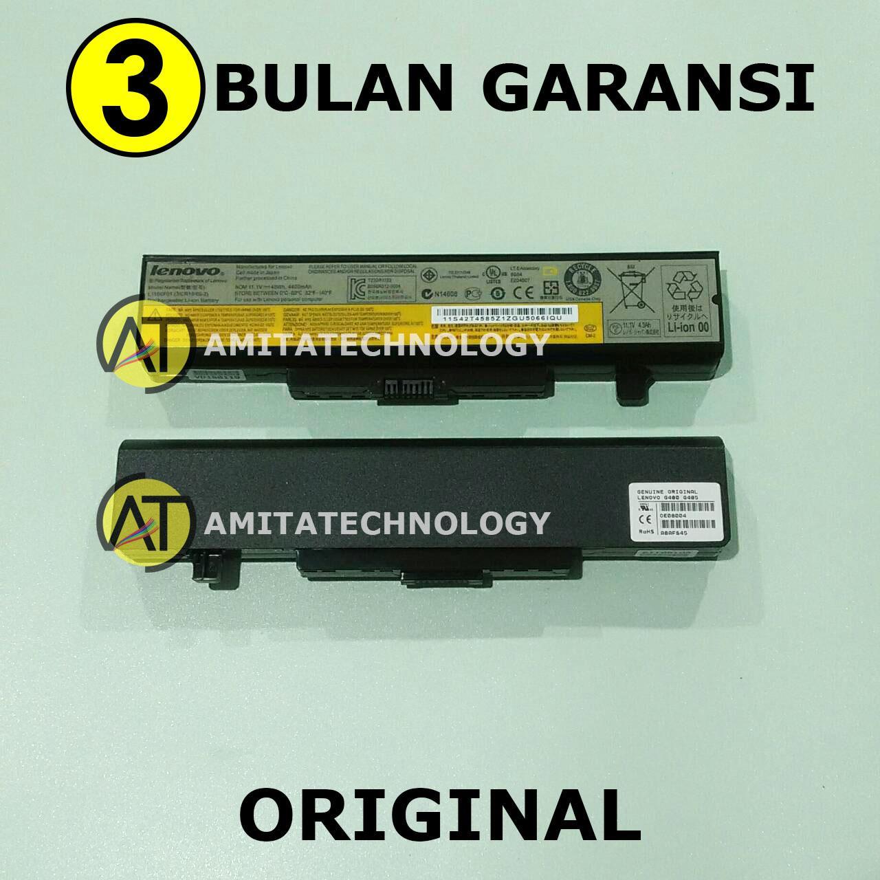Baterai Laptop ORIGINAL Lenovo G480 G485 G580 G585