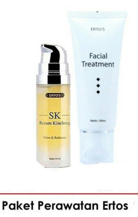 Ready Stock Facial Treatmen + Serum Kinclong ERTOS