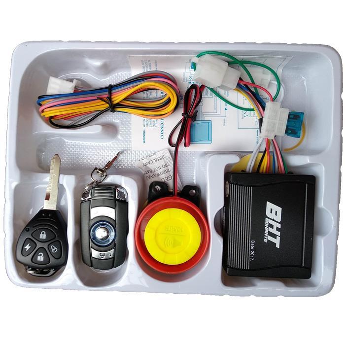 Alarm Motor Bonus Cara Pemasanggan Merk BHT 2 REMOTE - h6wZKaa