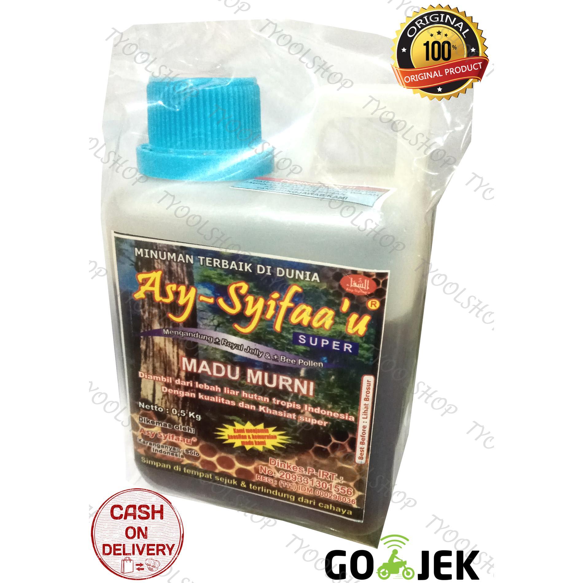 Asy-Syifaa'u Madu Murni Palembang - 500gr