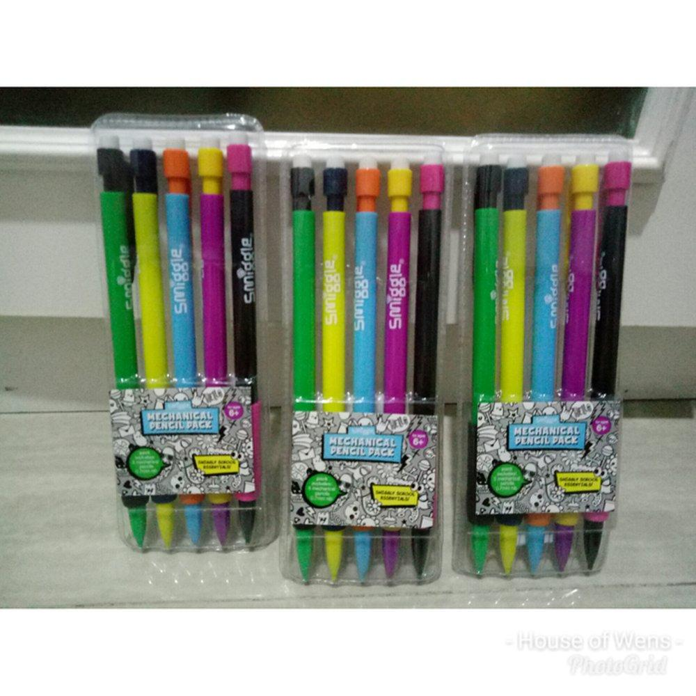 Smiggle Mechanical Pencil Pack x5