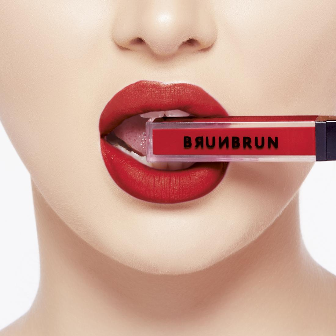 BRUNBRUN PARIS MELTED MATTE LIP COLOR ARIA