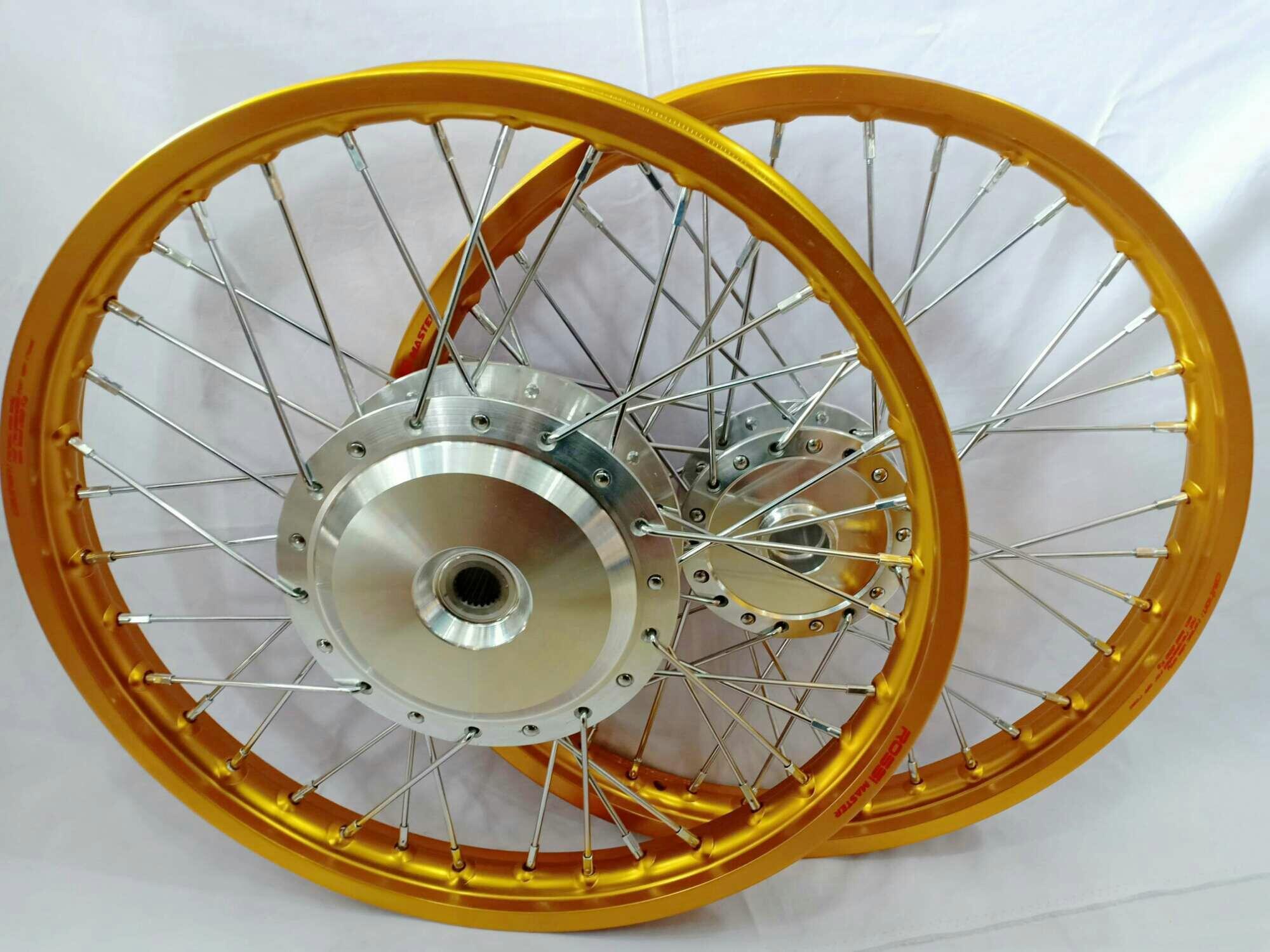 Velg Jari - Jari Ring 17 1 set Velg Rossi Tromol Chrome Jari