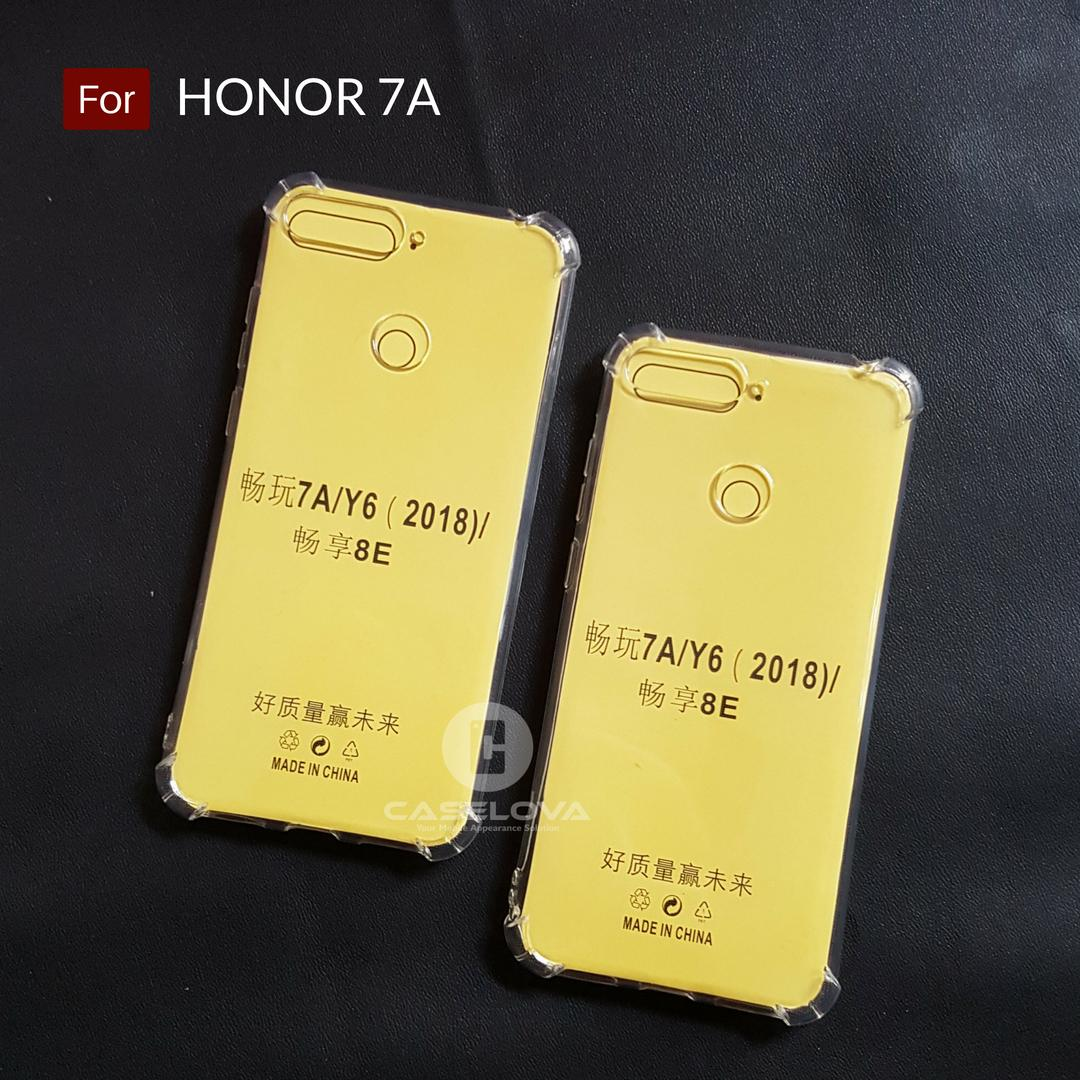 Caselova Anti Crack TPU Shockproof Case for Huawei Honor 7A - Clear