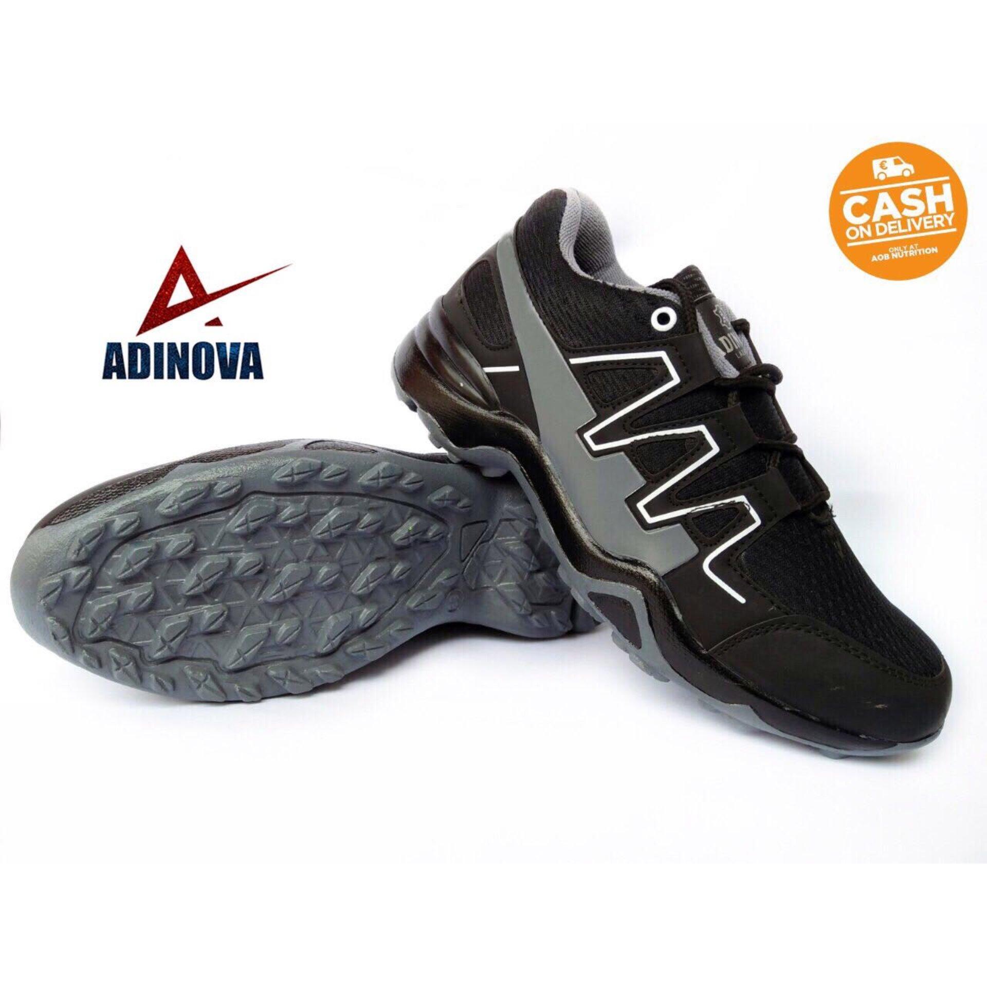 da0905dccc9b Adinova Shoes Sepatu Sport Solomo  Sepatu Olahraga   sepatu Gaya   Sepatu  Santai  Sepatu