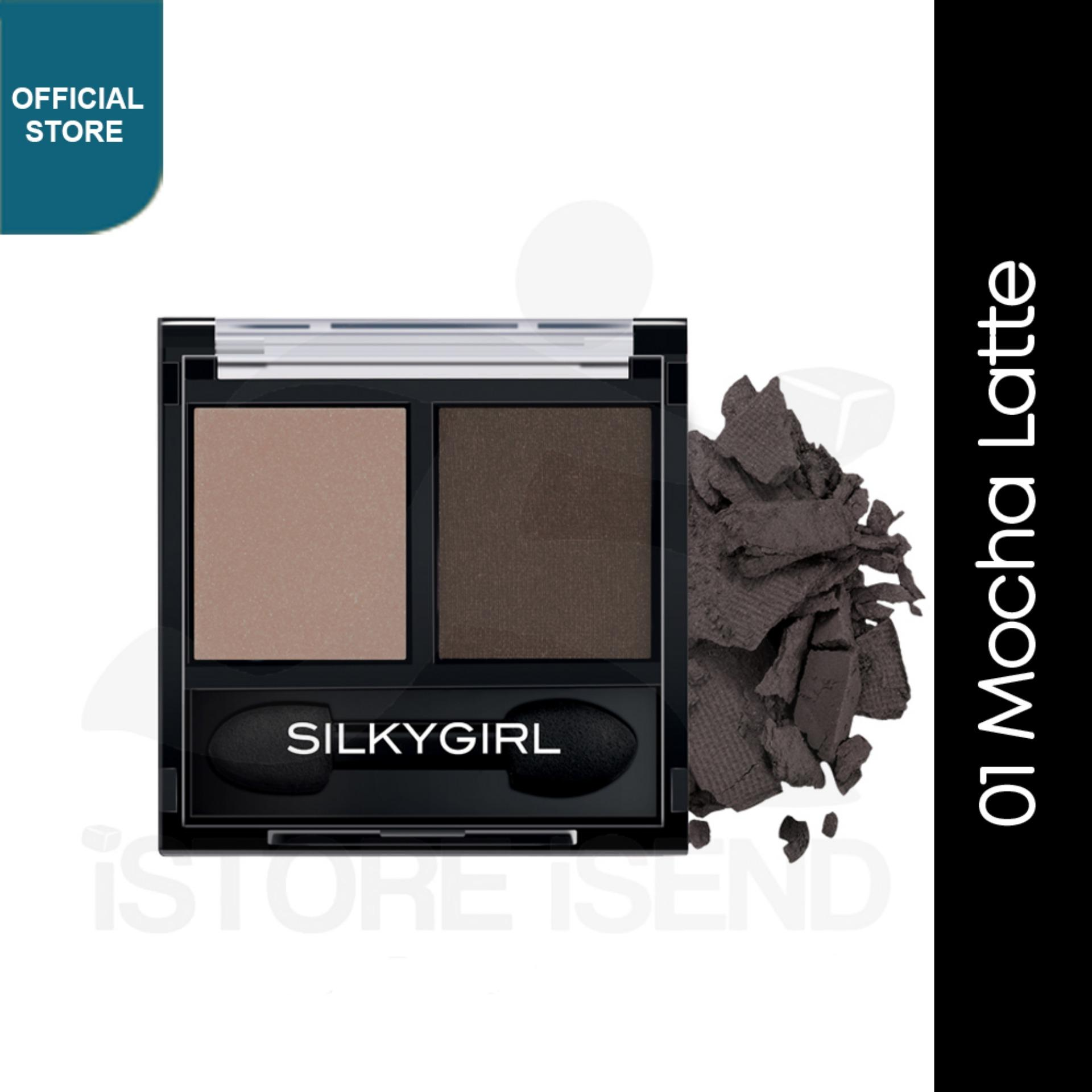 Buy Sell Cheapest Top Eye Shadow Best Quality Product Deals Wardah Make Up Kit Professional Silkygirl Double Intense Duo 01 Mocha Latte Ge0224