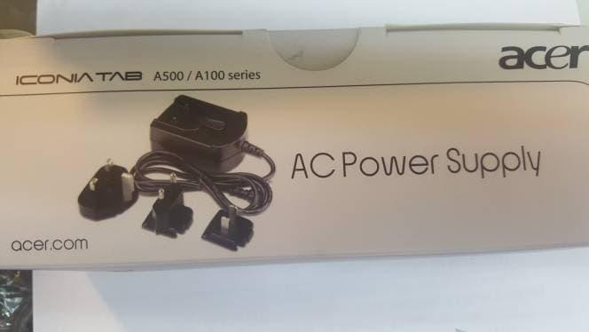 Charger Adaptor Acer Iconia Tablet  A100 A101 A200 A500 A501 12V Ori