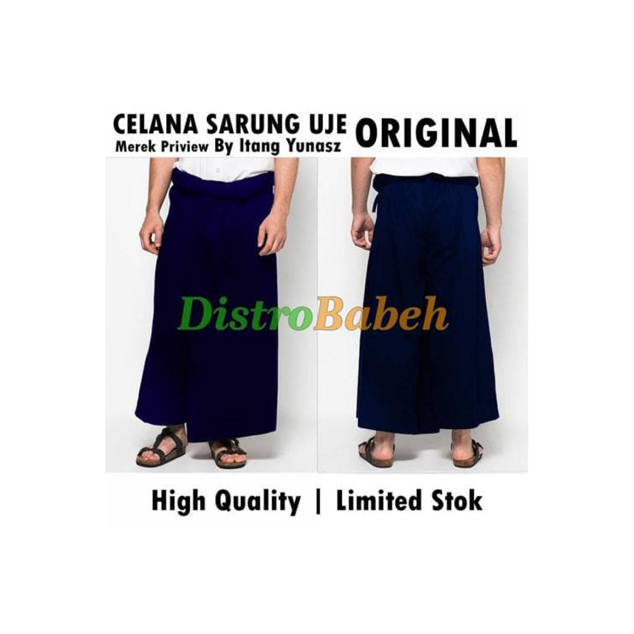 PROMO PRODUK Celana Sarung UJE | Warna DONGKER | Bawahan Baju Koko