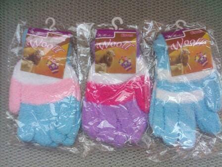 TWINS Sarung Tangan Handuk Tebal dan Trendy untuk Cewek Remaja dan Dewasa