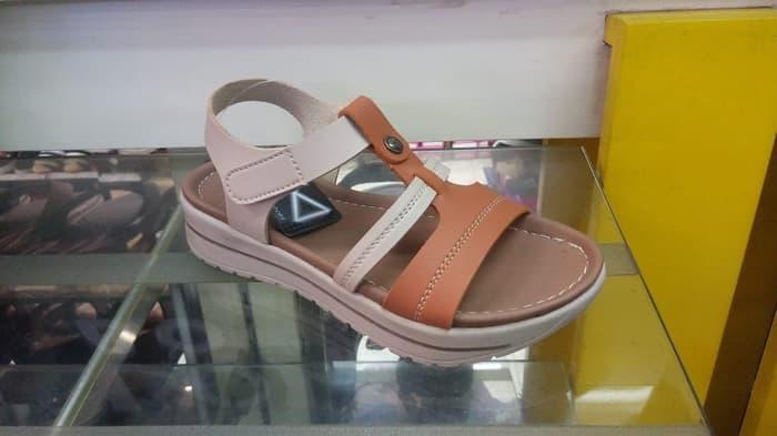 Terlaris  SALE sendal wanita sepatu sandal wedges merk fladeo asli original ori