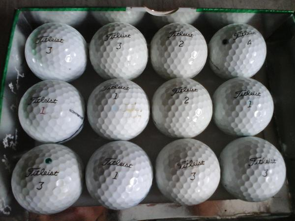 BEST SELLER!!! Bola golf Titleist pro v 1 & pro v 1x Bekas | Bola Golf - Ba928E