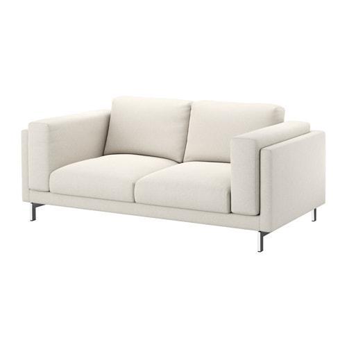 PROMO!! IKEA NOCKEBY Sarung sofa dua dudukan 37x13x56, Tallmyra krem muda MURAH /  BUBBLE 3 LAPIS / ORIGINAL / IKEA ORIGINAL