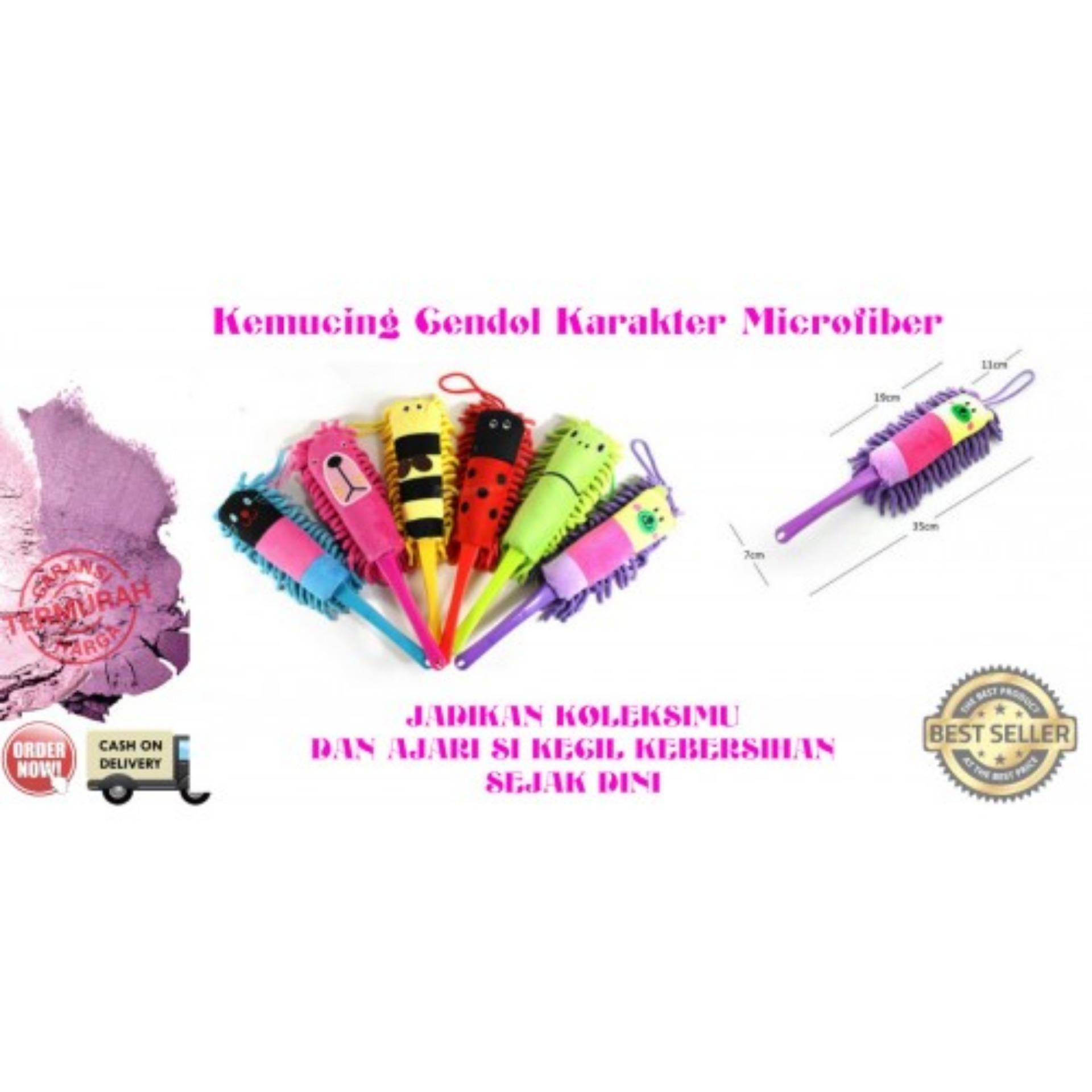 ... Pembersih debu - Dusters - Random Colour - Babamu. IDR 36,900 IDR36900. View Detail. Hybridtech - Kemoceng Cendol Karakter Microfiber