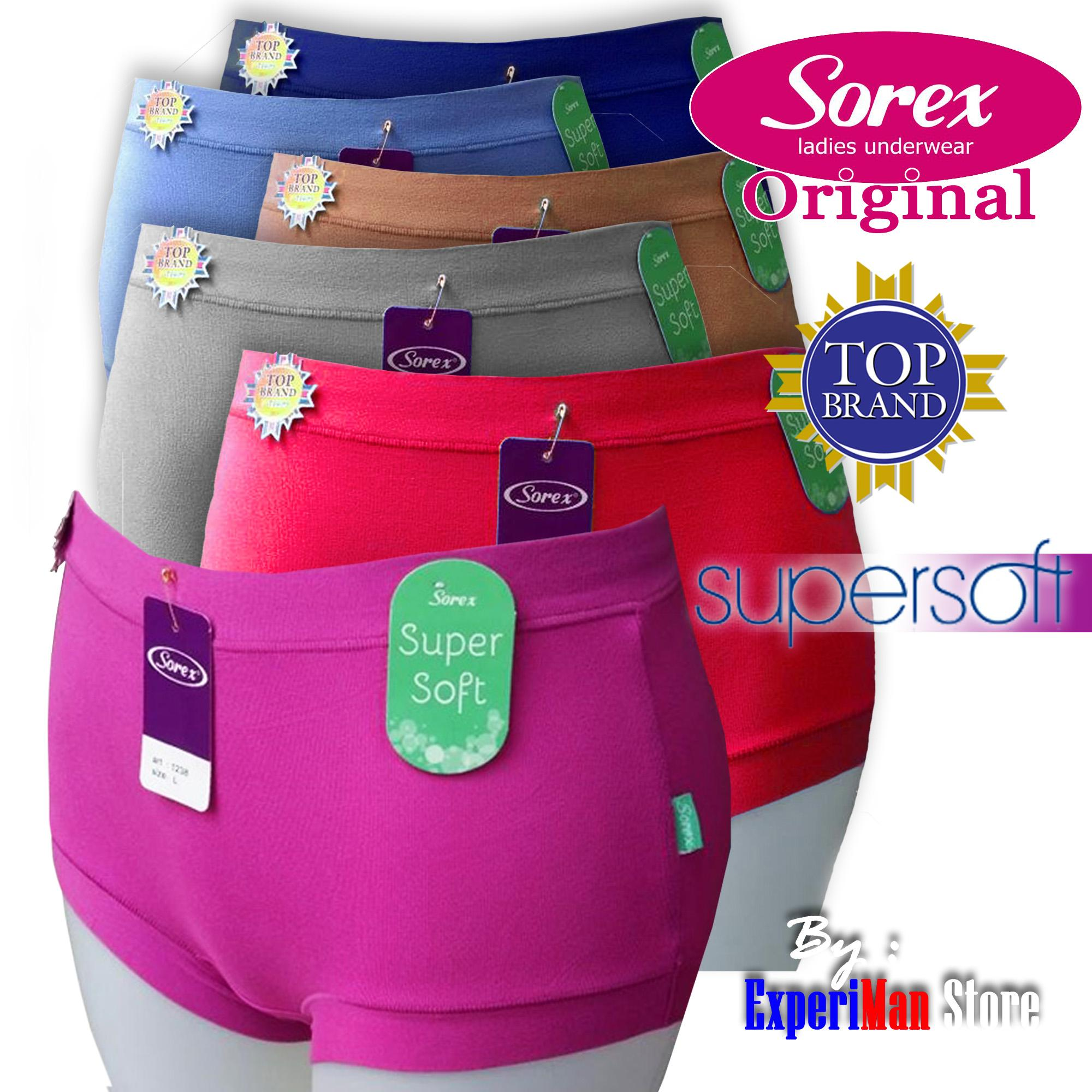 3Pcs Sorex Original Celana Dalam Wanita Super Lembut Harga Grosir 223347f6d7