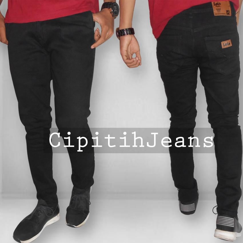 Celana Jeans Pria - Lois Fit Skinny Stretch Best Seller
