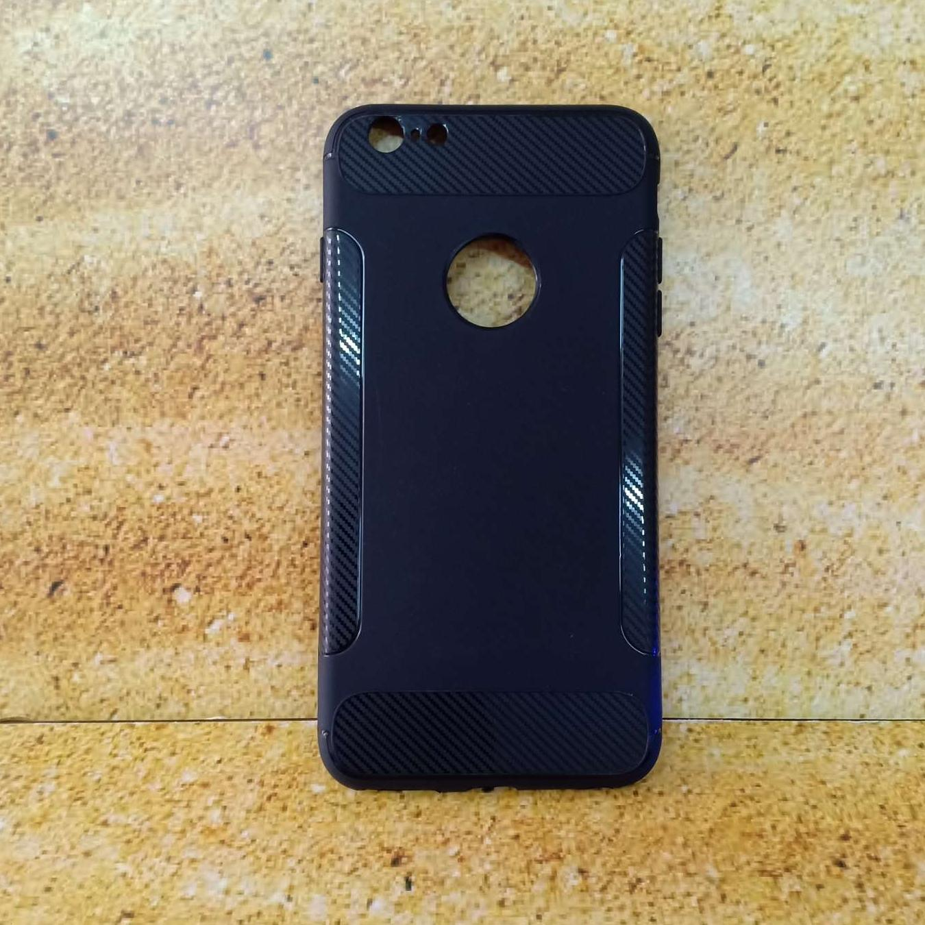 SOFTCASE IPAKY CARBON IPHONE 6 PLUS / SLIM CASE CARBON FIBERWING