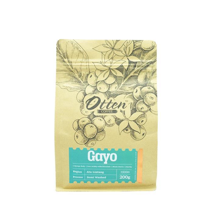 Otten Coffee Arabica Aceh Gayo Atu Lintang 200g - Biji Kopi (Best Seller)