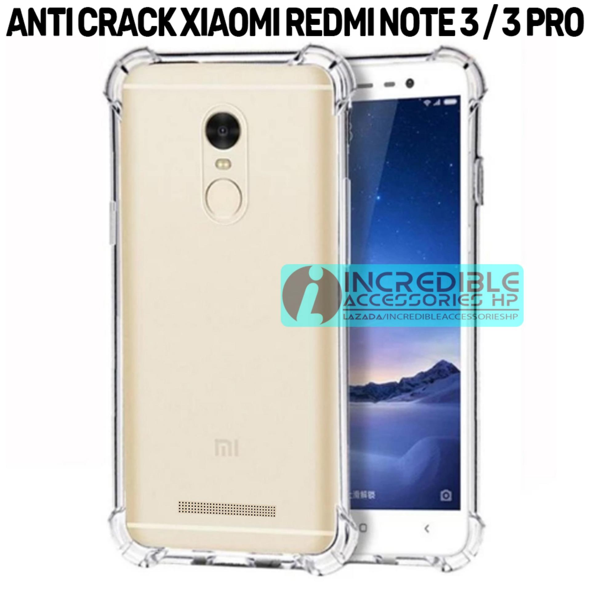 Case Anti Shock / Anti Crack Elegant Softcase for Xiaomi Redmi Note 3 - White Clear