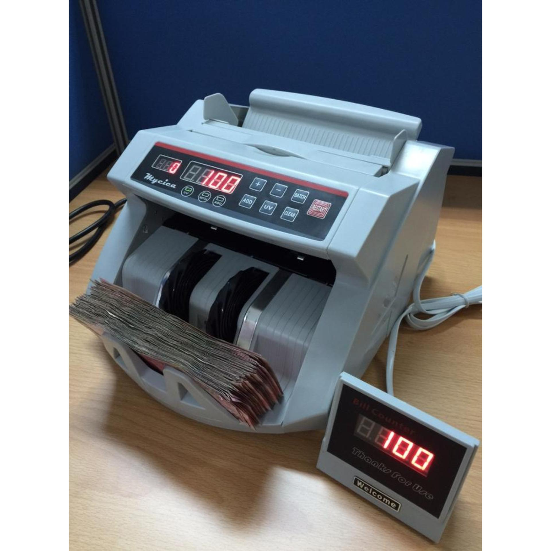 Mesin Penghitung Uang / Money Counter Anti Uang Palsu Tipe Hl 2100 By Sumber Rejeki_shop.