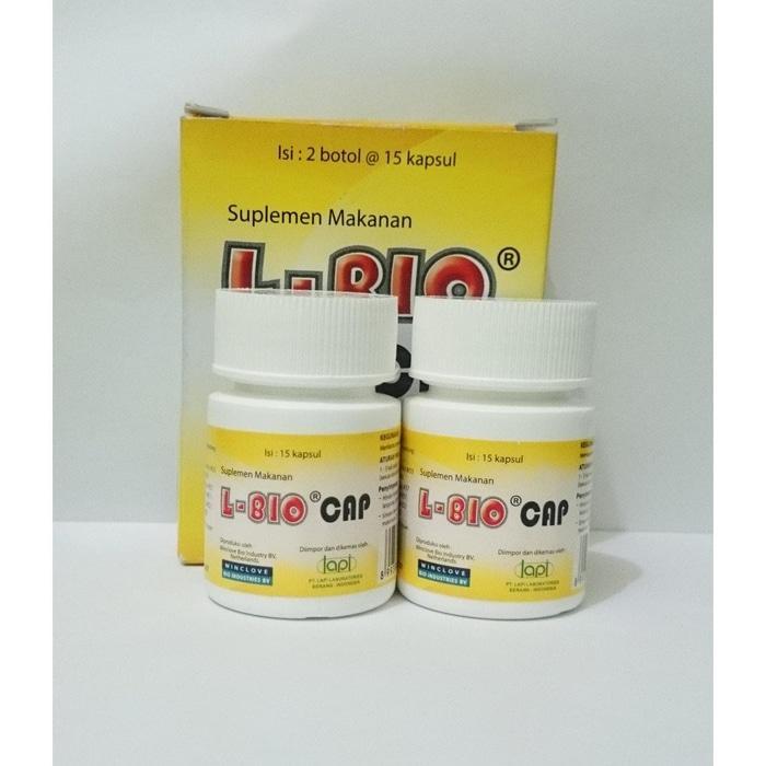 ASLI!!! L-BIO CAP (Kapsul Diet Probiotik Aman) Turun Berat Badan - 6HwmF4