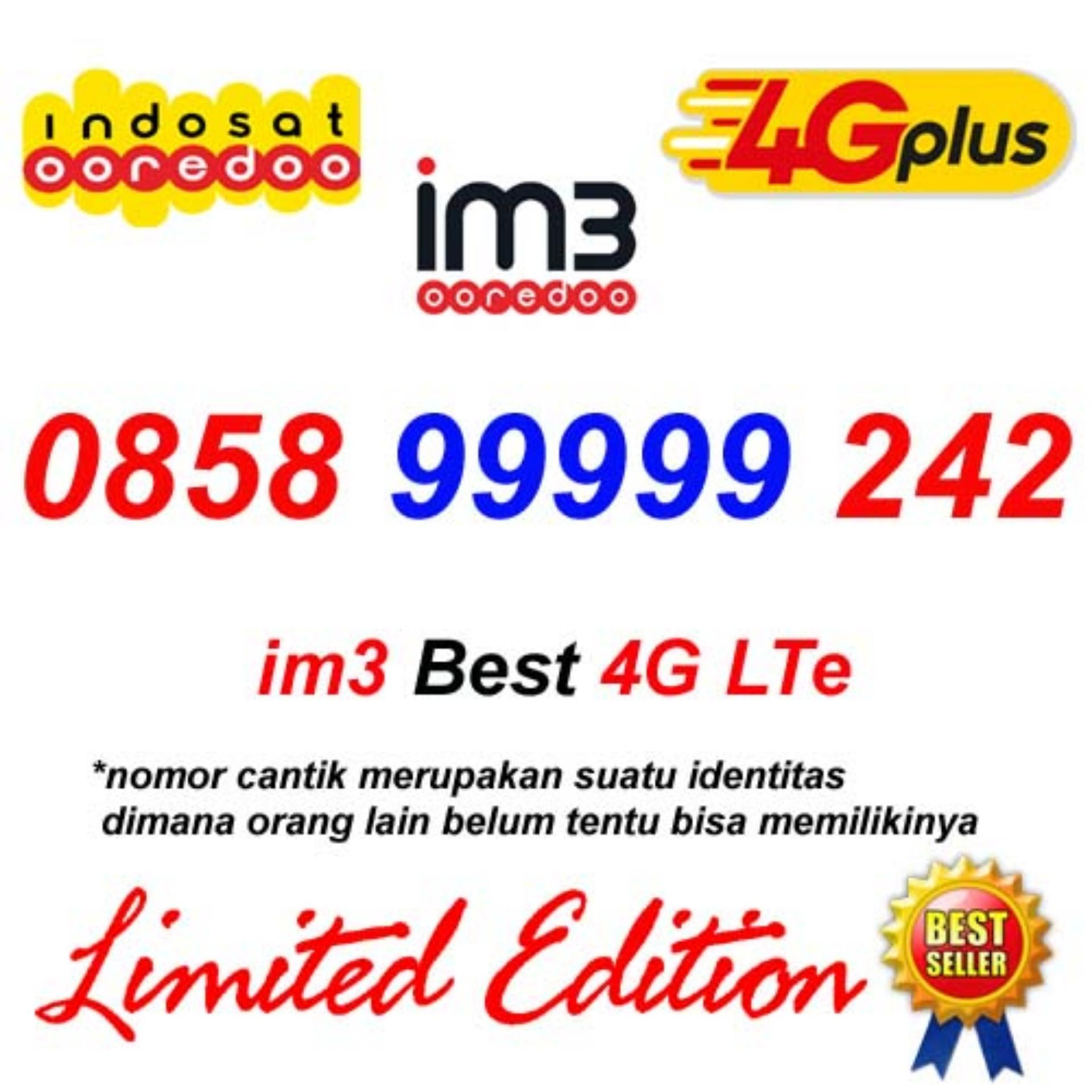 Jual Produk Indosat Terlengkap Voucher 2 Gb Mini Im3 Ooredoo 0858 99999 242 Kartu Perdana Nomor Cantik 4g Lte Plus