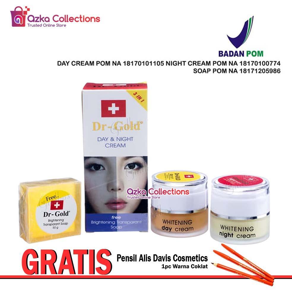 Beli Dr Pure Paket Cream Pemutih Original Bpom Free Whithening Soap Whitening Sabun 1 Gold Set 3in1 Wajah Gratis 1pcs Davis Pensil