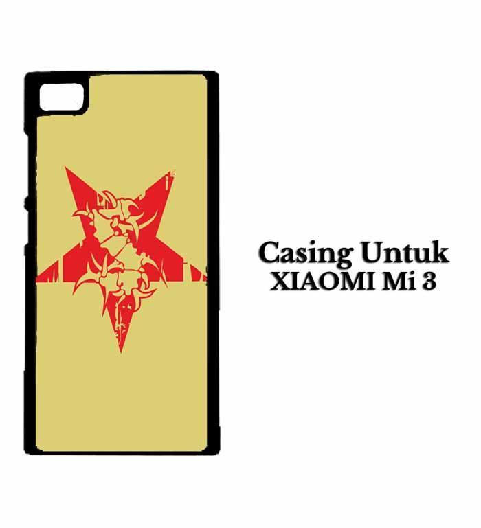 Casing XIAOMI REDMI Mi 3 sepultura logo Hardcase Custom Case Se7enstores