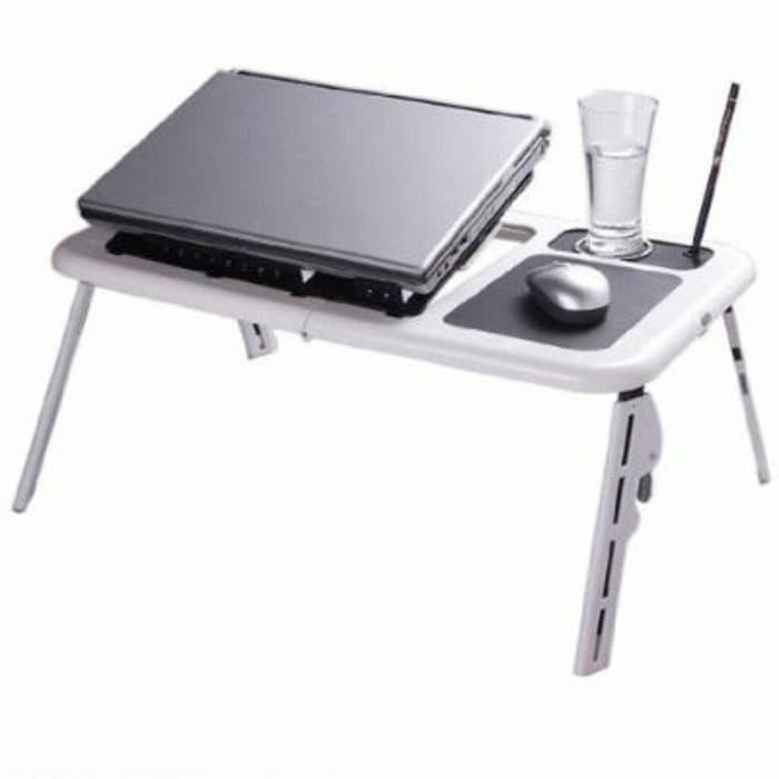 Edjoys MEJA PORTABLE LAPTOP E-TABLE / DESK PORTABLE MOUSE PAD AND COOLING FAN