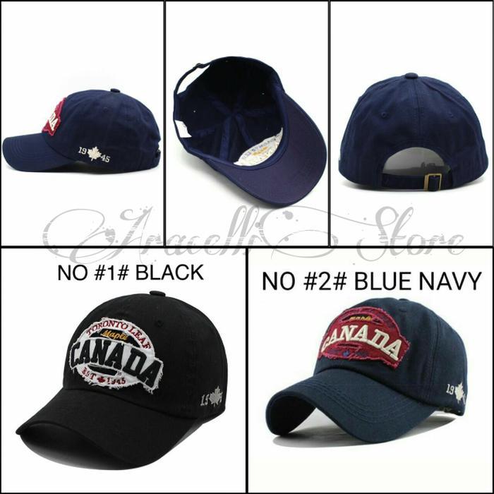 Rp 157.000. Topi Baseball Caps Import Murah   Topi Canada 1945 Casual Pria  Fashion Terlaris di lalazazadadaIDR157000. Rp 157.000 62692716e4
