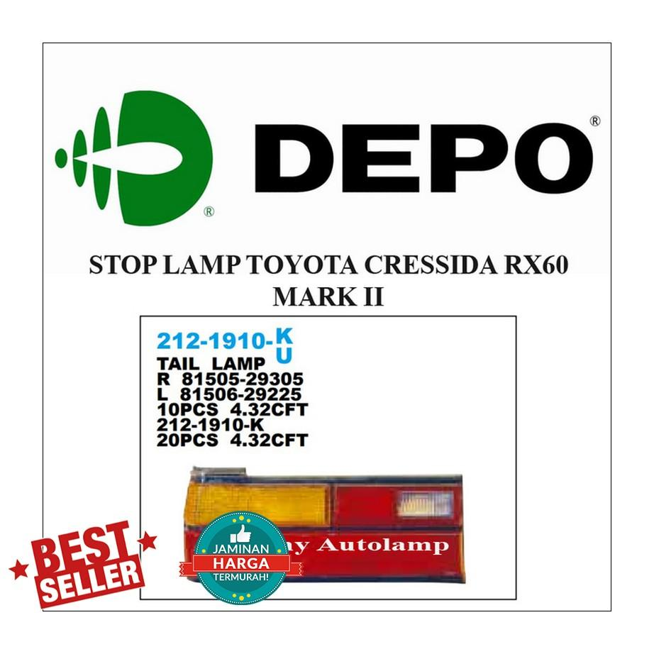 STOP LAMP TOYOTA CRESSIDA RX60 MARK II LH