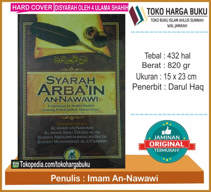 Best Seller - Syarah Arba'In An-Nawawi Ori Penerbit Darul Haq - ready stock