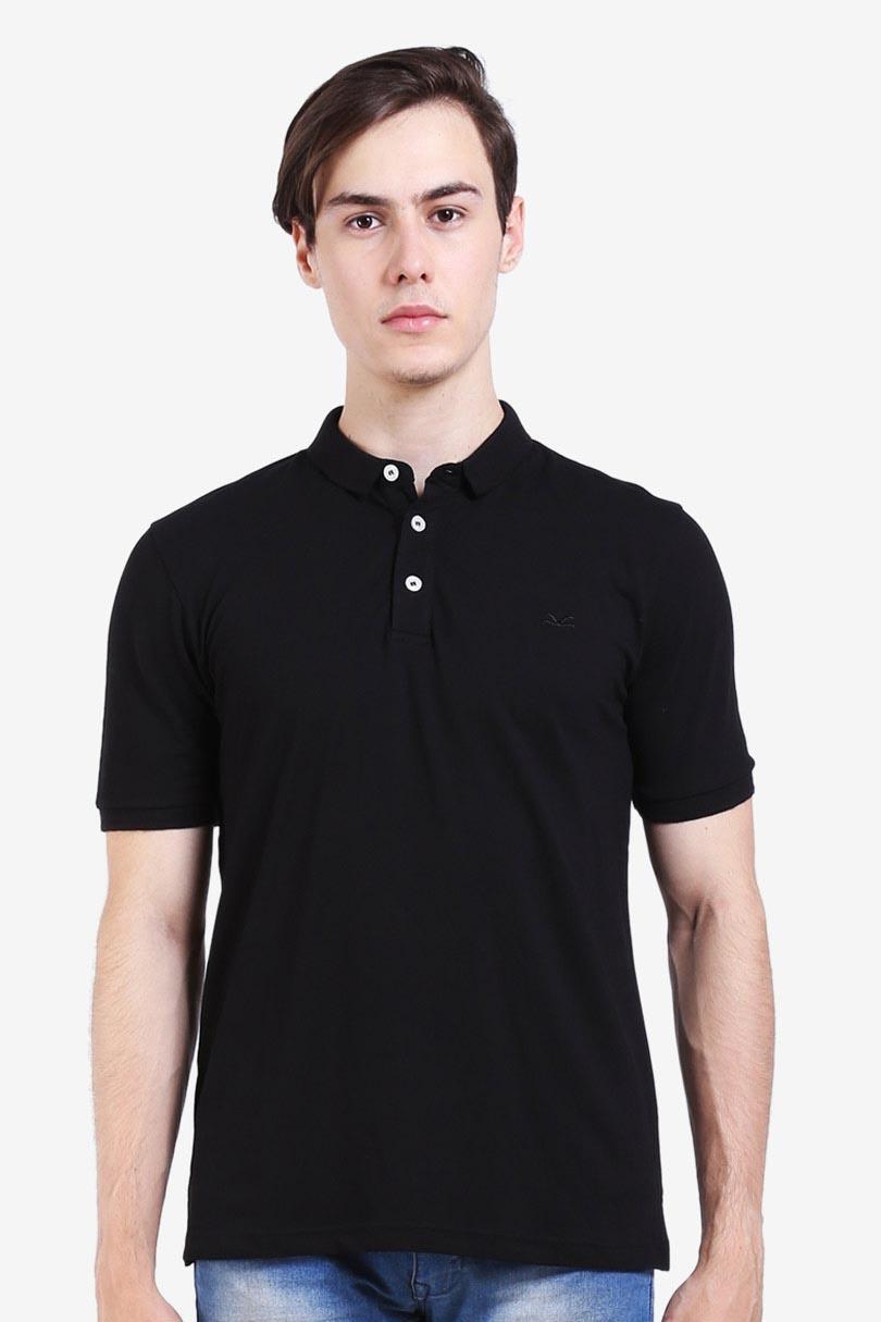 Carvil Polo Shirt Man Dexco Blk