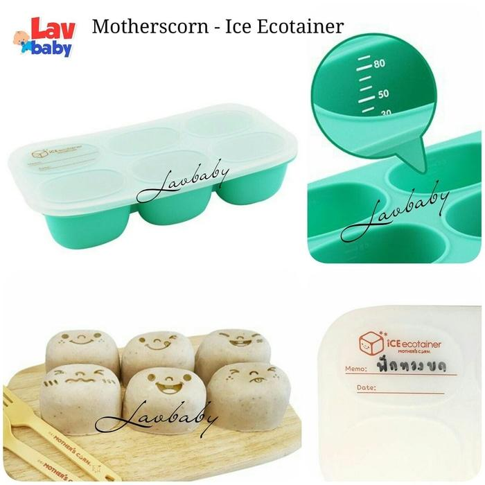 PROMO Mother's Corn Ice Ecotainer Cube babycubes mpasi