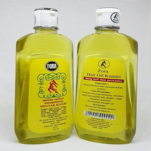 Minyak Kemiri Fora 125 ml - Menghitamkan dan Menyuburkan Rambut