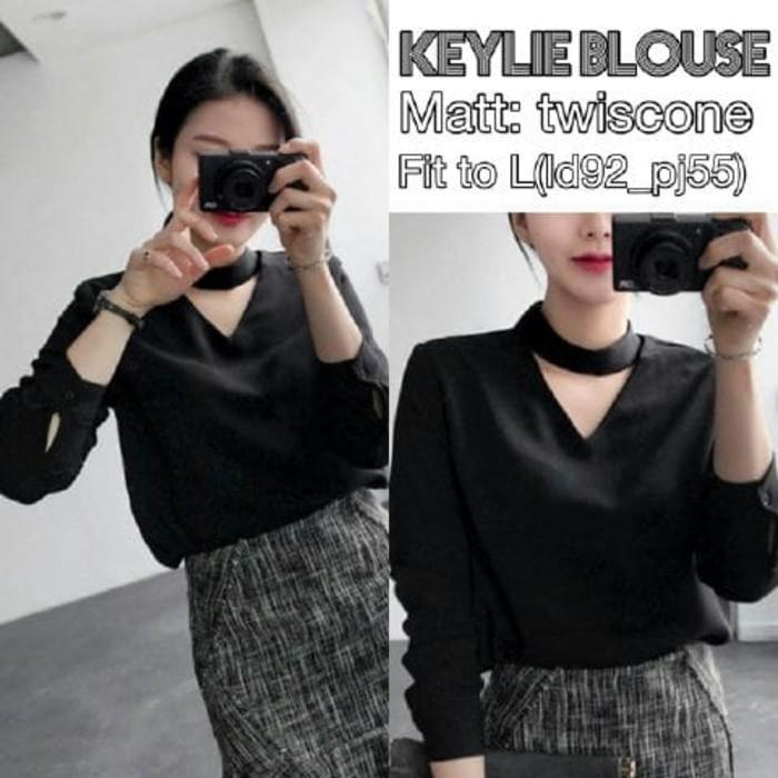 vshopjkt Keylie Fashionable blouse bagus blus bagus kualitas baik baju wanita atasan wanita top wanita fashion