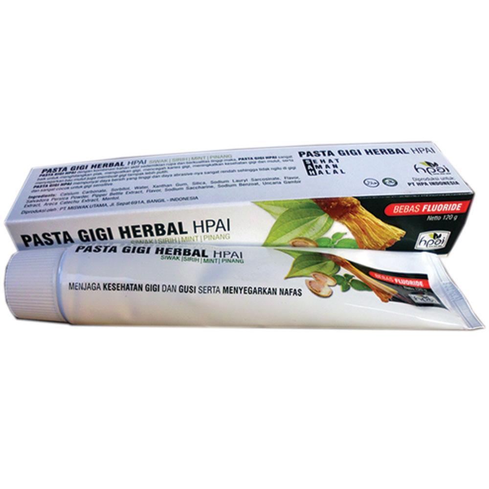 Jual Produk Hpai Terbaru Minyak Herba Sinergi Butbut Pasta Gigi Herbal