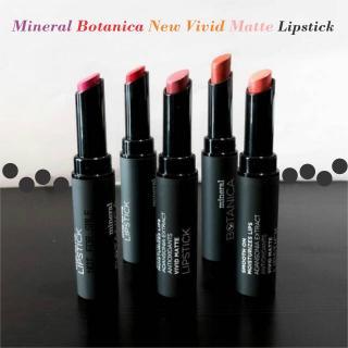 Glizzkosmetik - Mineral Botanica New Vivid Matte Lipstick 2,2gr thumbnail