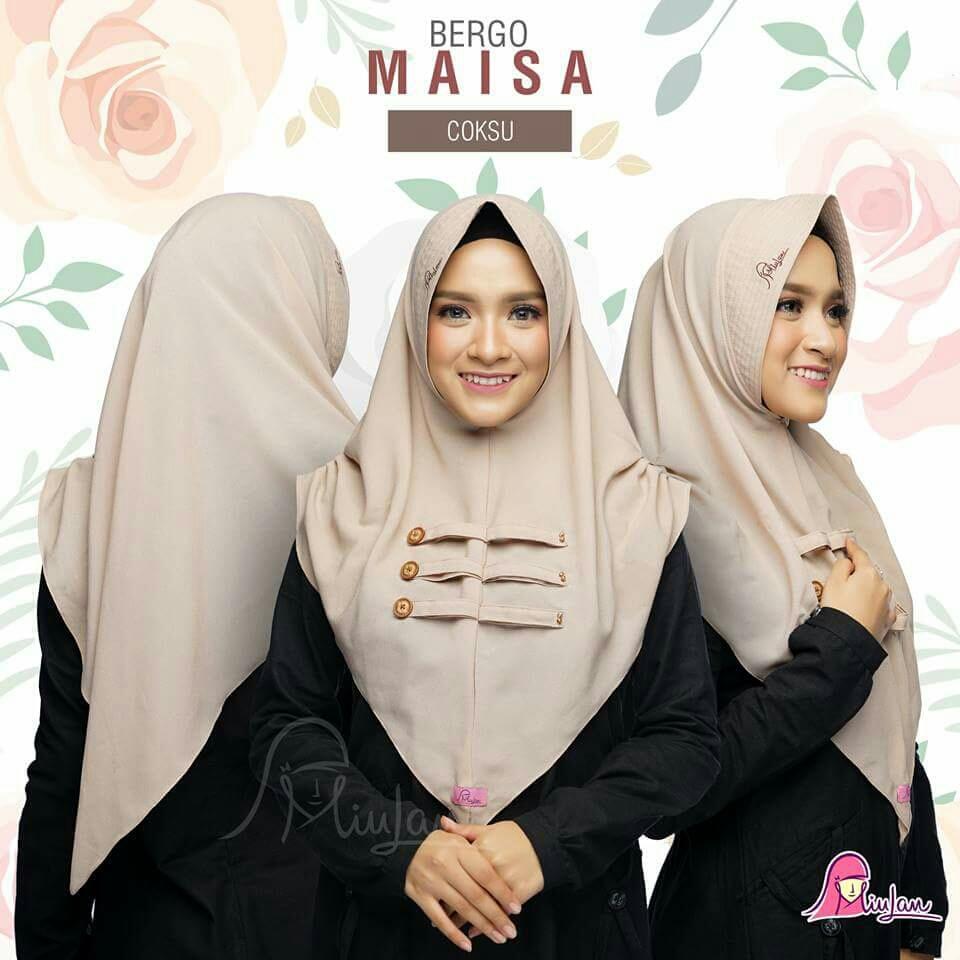 Jual Miulan Bergo Hijab Murah Garansi Dan Berkualitas Id Store Jilbab Anak Serut Laura Laris Rp 69500