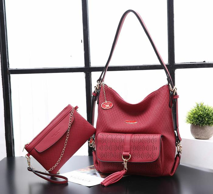 BEST SELLER!!! Tas Wanita Marc Jacobs Osella Import / H707 (2 in 1) - xODlYs