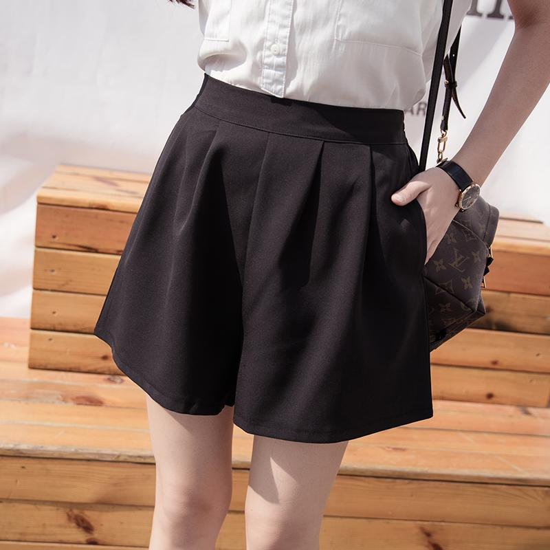 MM Celana Pendek Super Ukuran Besar Kulot Casual Wanita