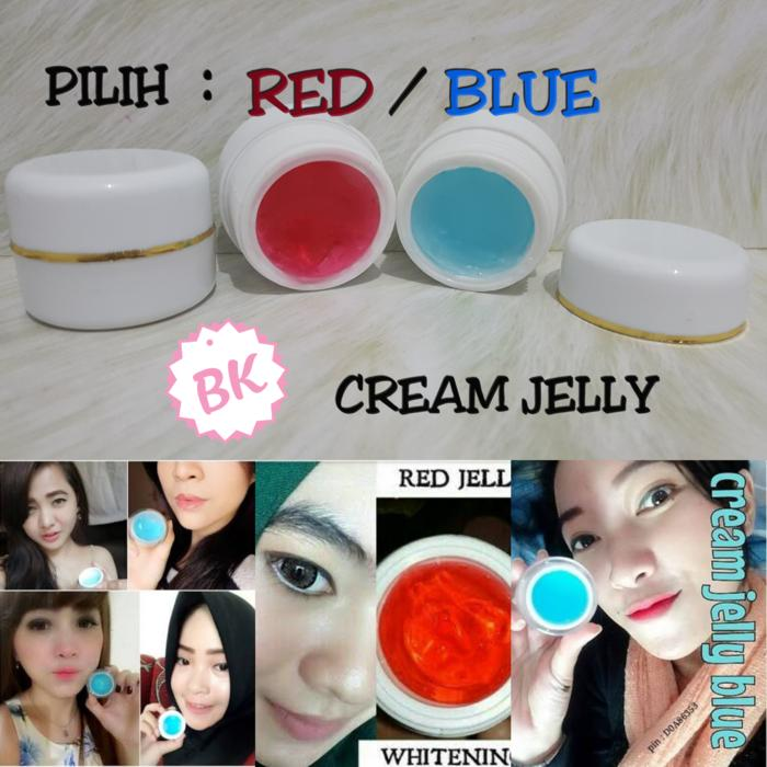 CREAM JELLY GLOWING VITAMIN RED JELL / BLUE JELL