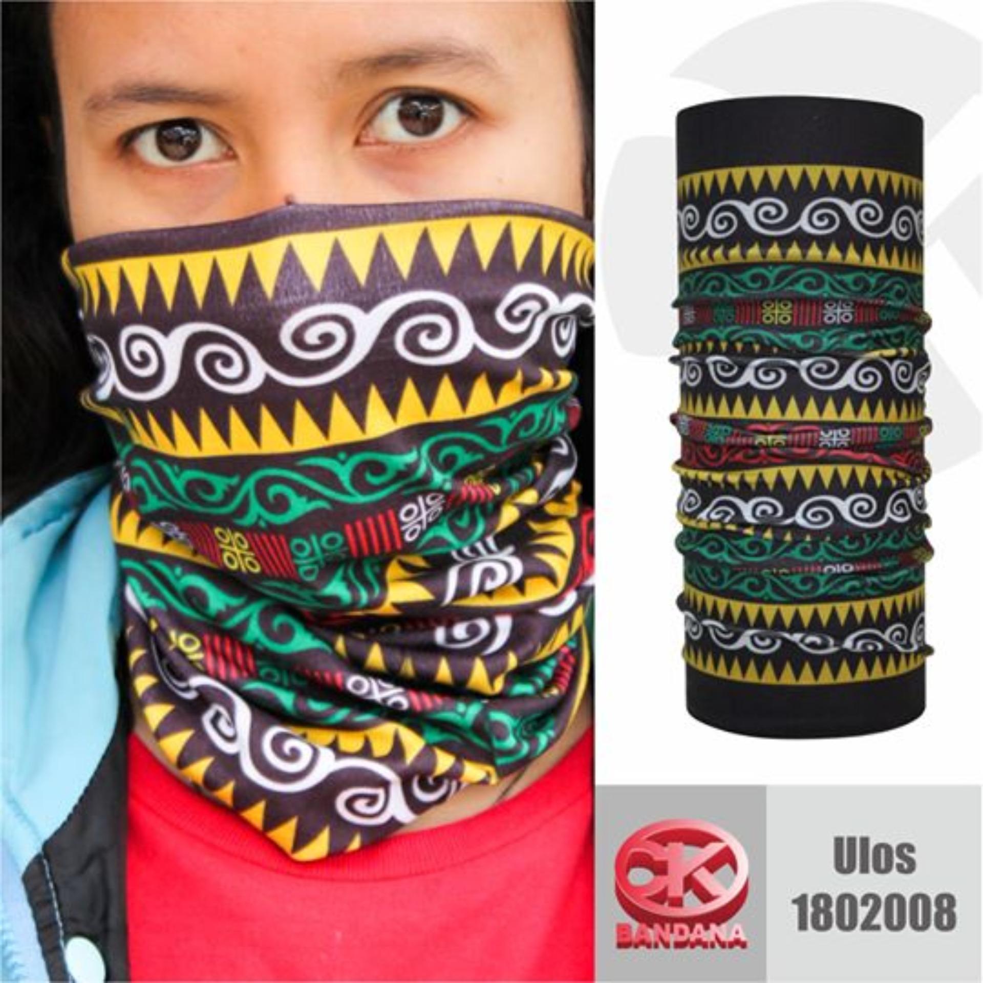 Buff CK Bandana 1802008 Masker Multifungsi Motif Ulos