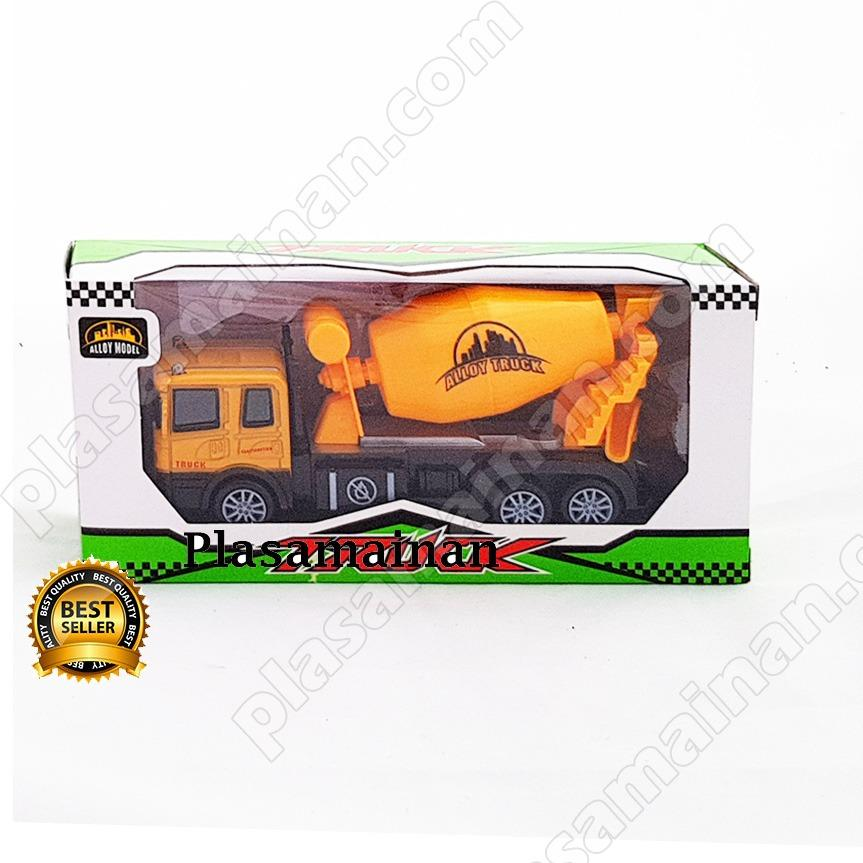 AA Toys Die Cast Truck Mini Cement Mixer Series Molen Pull Back