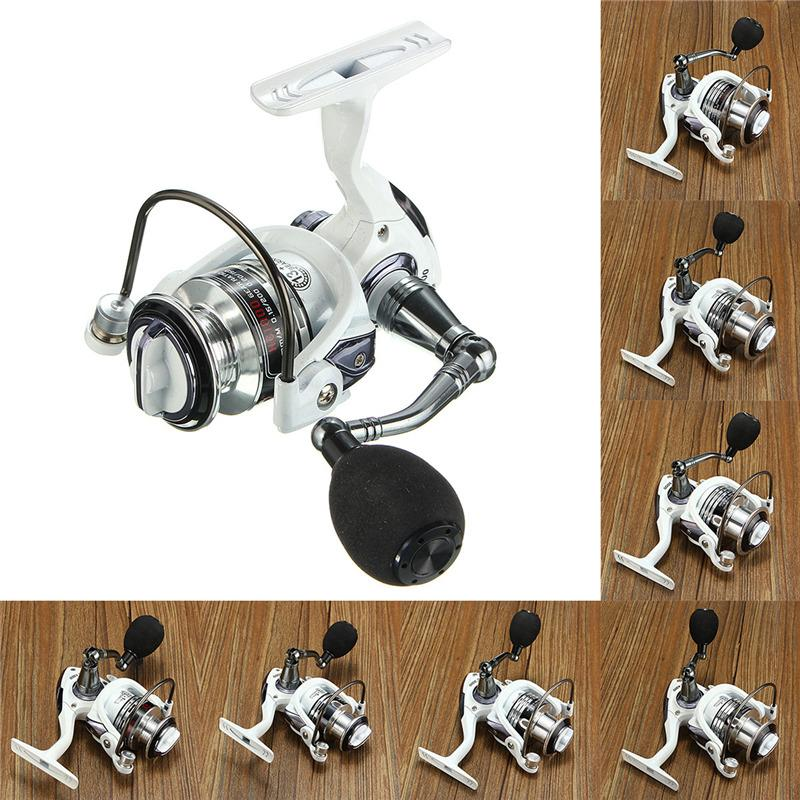 14BB Ball Bearing Fishing Spinning Reel Right Left Hand Saltwater Freshwater HC HC2000 White - intl