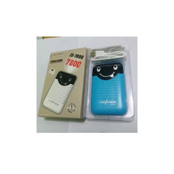 Hot Promo Power Bank Advance J3 - 7800 Mah Output 1.5A/ Speaker Aktif / Speaker Laptop / Bas