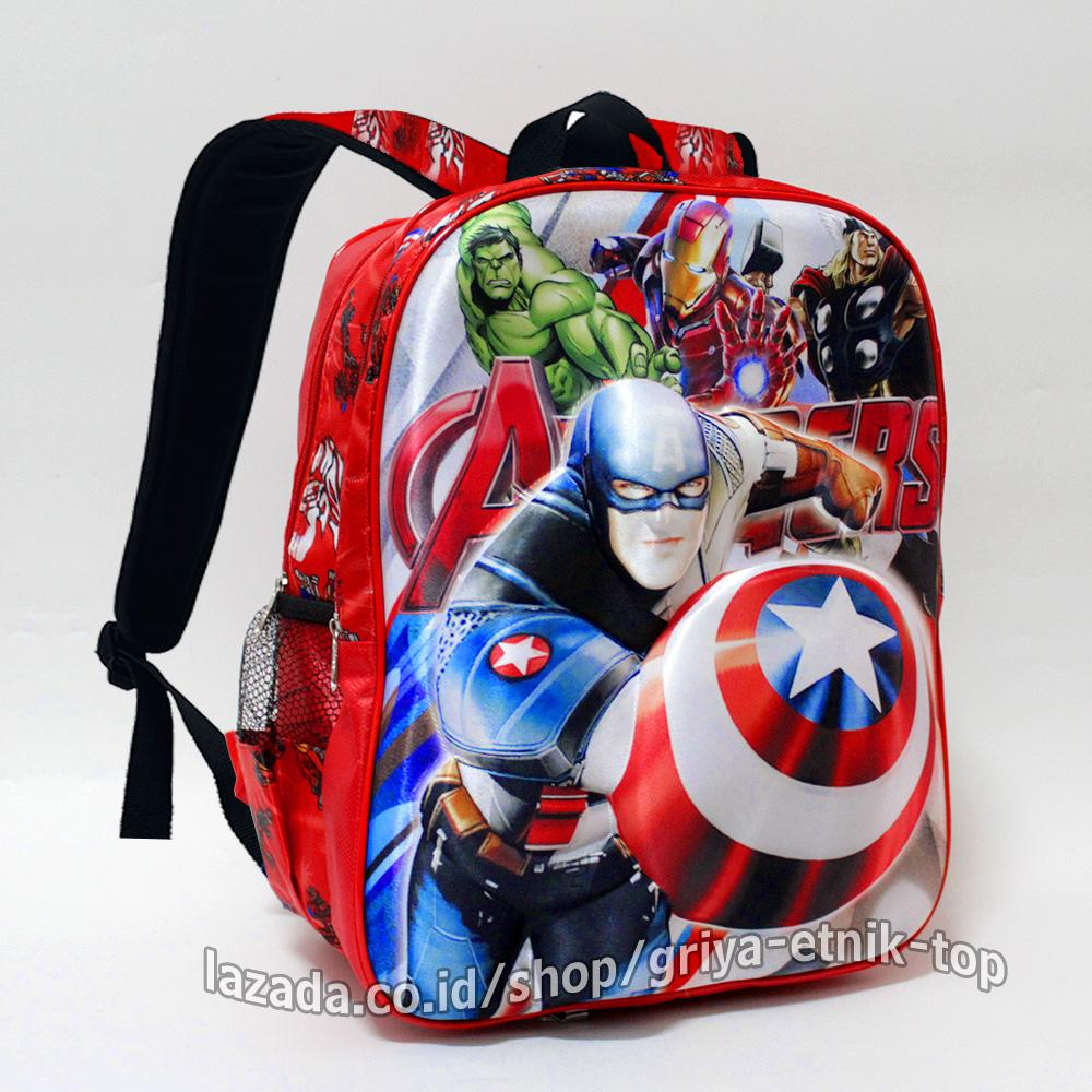 Spiderman Tas Ransel Anak TK IMPORT- Full Motif Spider. Source ·