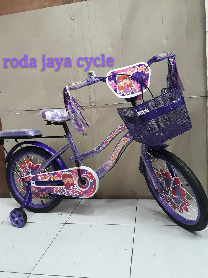 sepeda united joyfull uk 18 inch