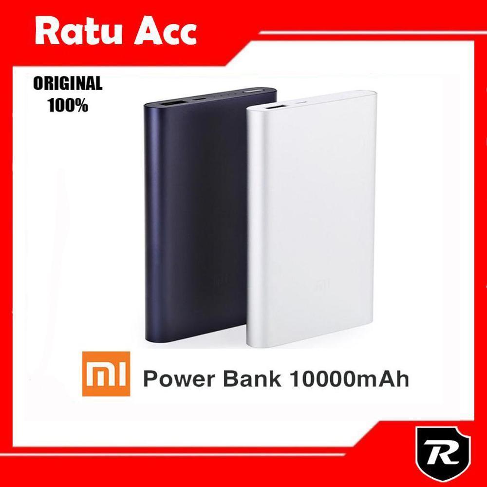 Termurah - Powerbank Xiaomi 10000 Mah Generasi Ke 2 Fast Charging Original di lapak Ratu Accesories HP ratuaccesorieshp